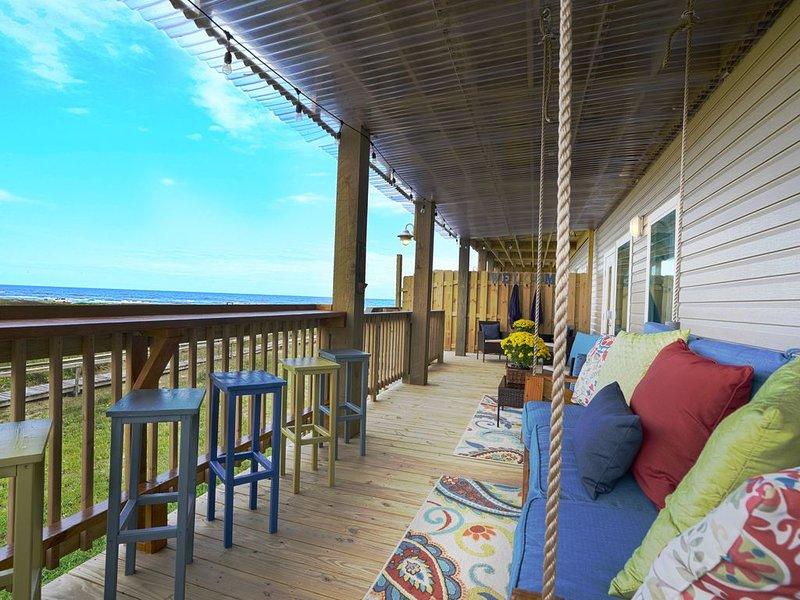 ☀️ NEW! Surfside Retreat w/ Beach View / Sleeps 8 !! Fun In The SUN !!! �, location de vacances à Freeport