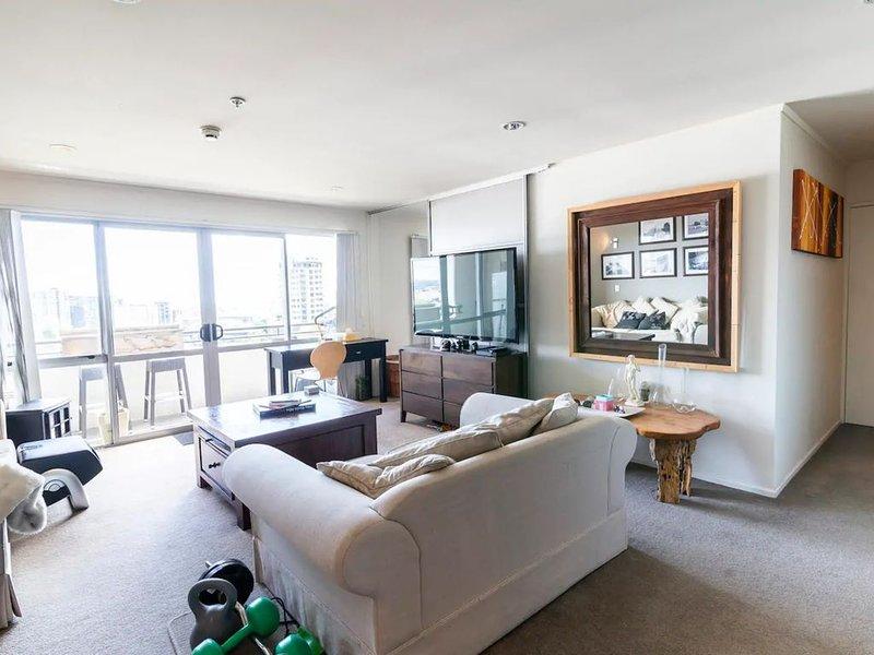 Sunny 2 Bedroom Flat in Grafton with City Views, alquiler vacacional en Mount Eden