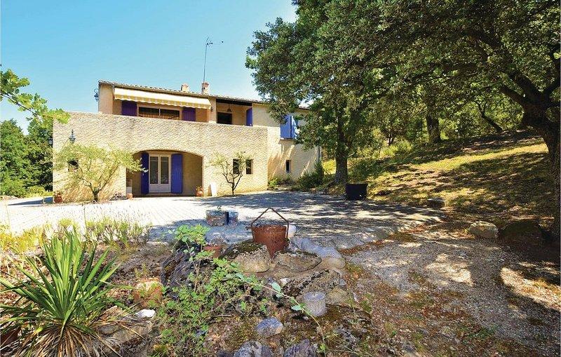 3 Zimmer Unterkunft in Chamaret, location de vacances à Valaurie