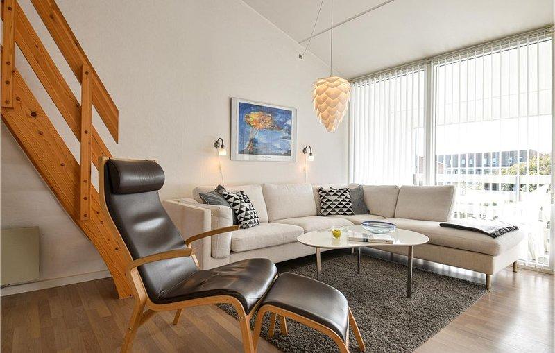 2 Zimmer Unterkunft in Ringkøbing, holiday rental in Houvig