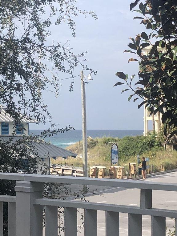 Sunrise Beach's private beach has public amenities & lifeguard right next door.