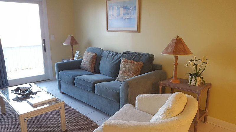 Ocean Front 2 Bedroom Condo, Gorgeous View!, holiday rental in Harbor Island