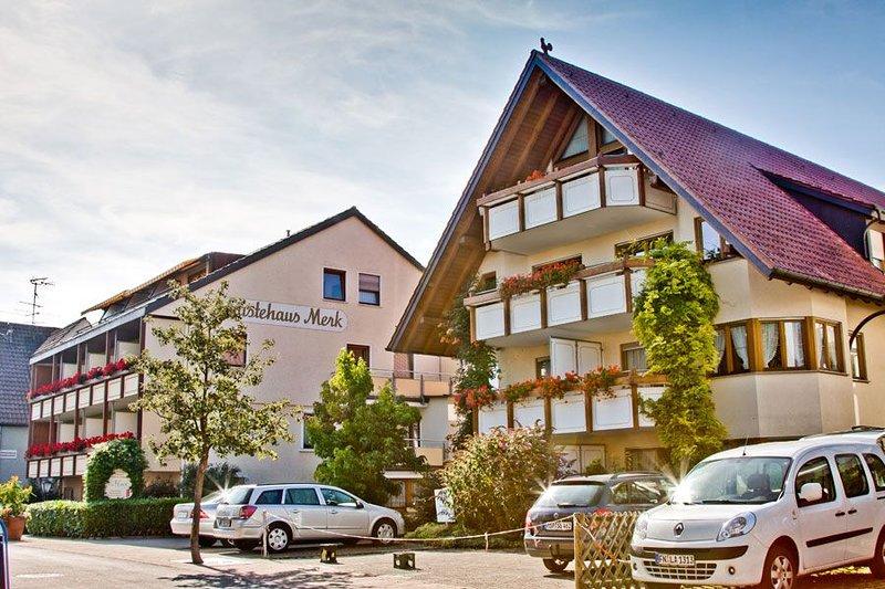 Ferienwohnung, 45 qm, 1 Wohn/Schlafraum, max. 4 Personen, casa vacanza a Markdorf