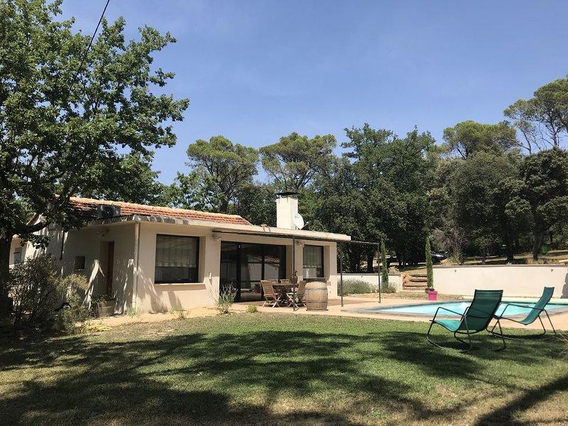 Villa au coeur des bois, vacation rental in Mondragon