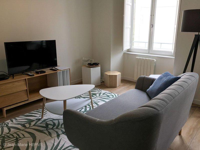 Appartement classé **** - Hyper centre ville de Quimper, vacation rental in Quimper