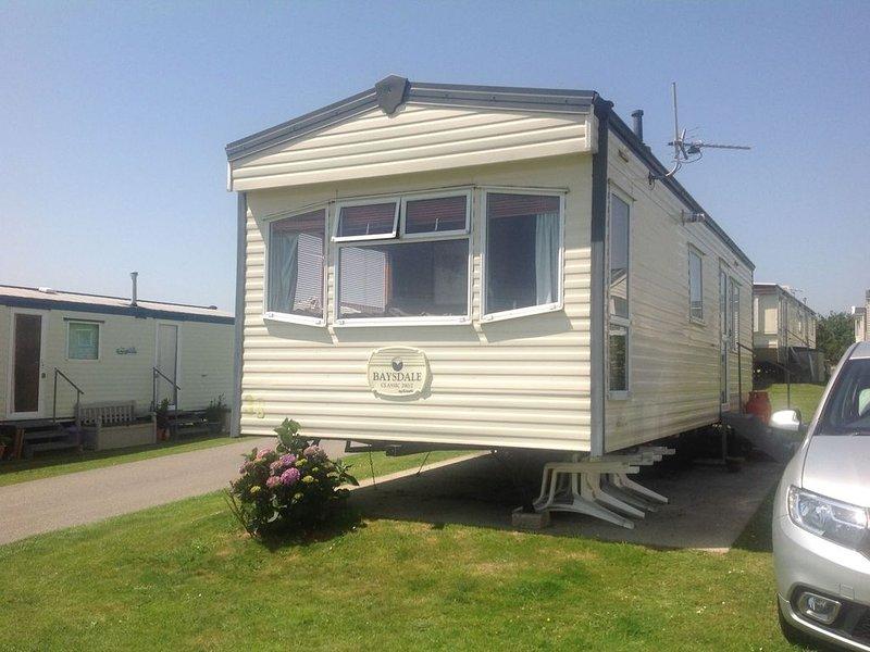 39 west wayland caravan park pl132js, location de vacances à Pelynt