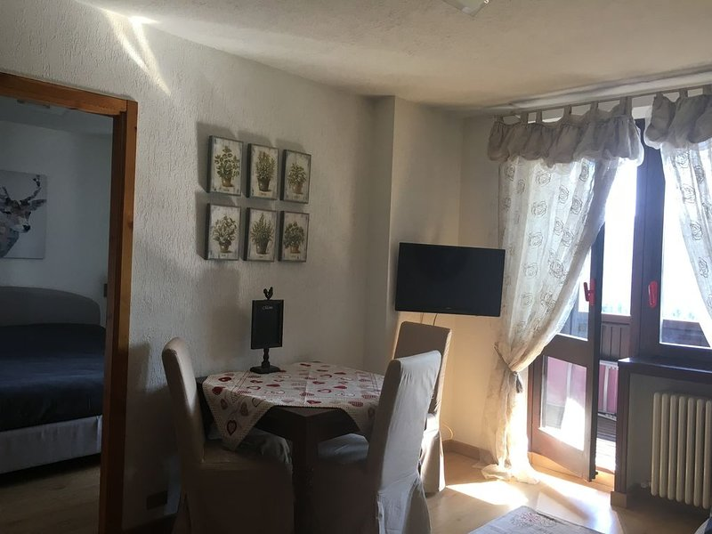Luminoso appartamento nel centro di Sestriere, vacation rental in Borgata Sestriere