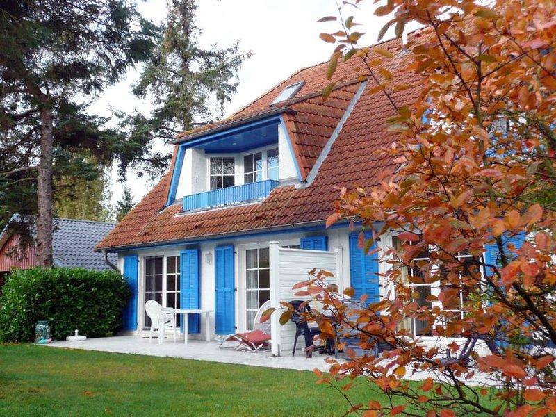 große Maisonettewohnung in ruhiger Lage für 4 P., WLAN, Süd-Loggia, inkl. Wäsche, location de vacances à Ostseebad Prerow