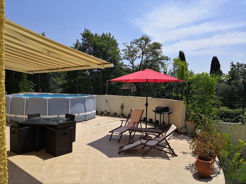 Roquefort les Pins-2 p-piscine privative-terrasse, casa vacanza a Roquefort les Pins