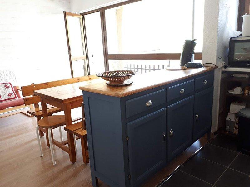 Puy Saint Vincent 1400 : Appartement 2 chambres au calme, location de vacances à Pelvoux