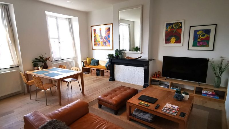 Appartement privatif le long de l'Escaut + Parking privatif, location de vacances à Hainaut Province