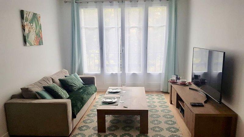 Beautiful 1 bedroom Paris Alesia, vacation rental in Val-de-Marne
