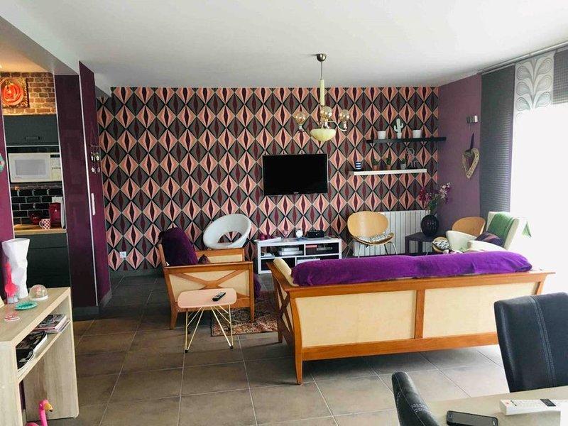 MAISON MODERNE A 800METRES DE LA PLAGE, vacation rental in Agon-Coutainville