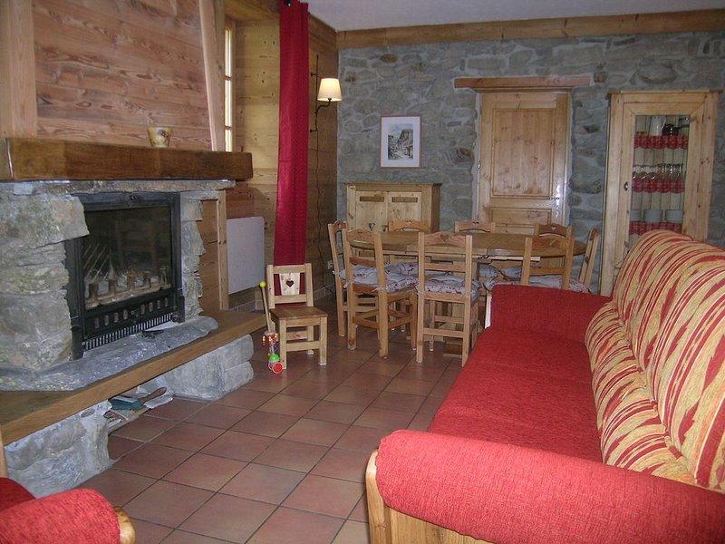 Gîte de la Tour Savoie, holiday rental in Saint Michel de Maurienne