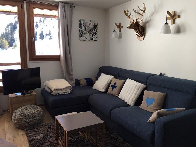 Bel appartement rénové 50m2 Avoriaz, location de vacances à Avoriaz