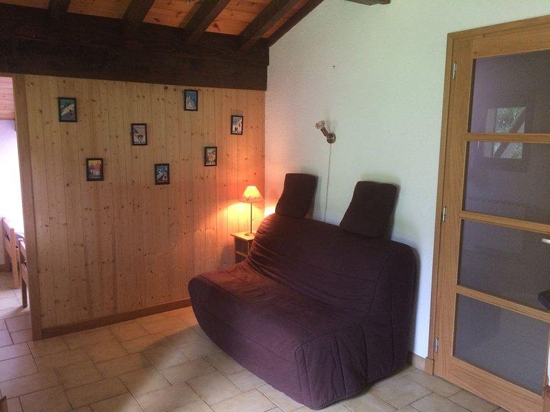 Appartement  4 personnes 1 chambre Cordon domaine skiable, location de vacances à Cordon