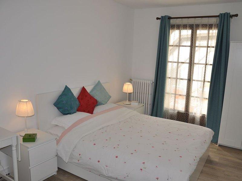 Villa de charme à 5 mn d'Amboise Suite parentale, holiday rental in Saint Regle