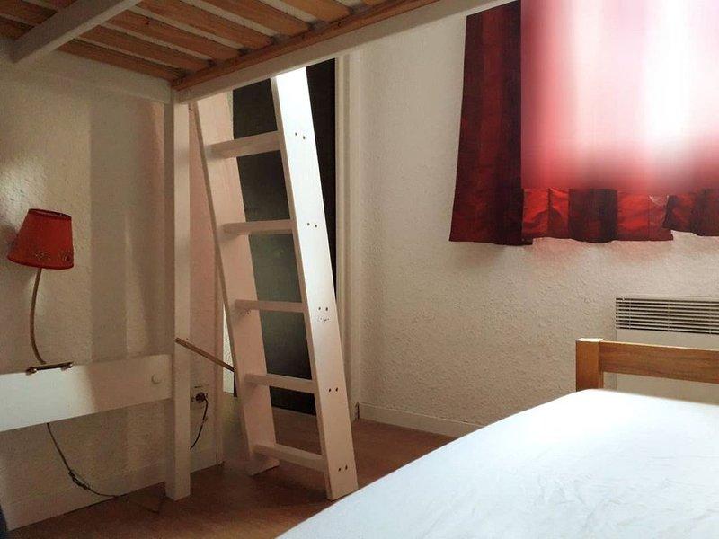 Appartement aux 2 alpes. Front de neige. 4/5pers, alquiler vacacional en Mont-de-Lans
