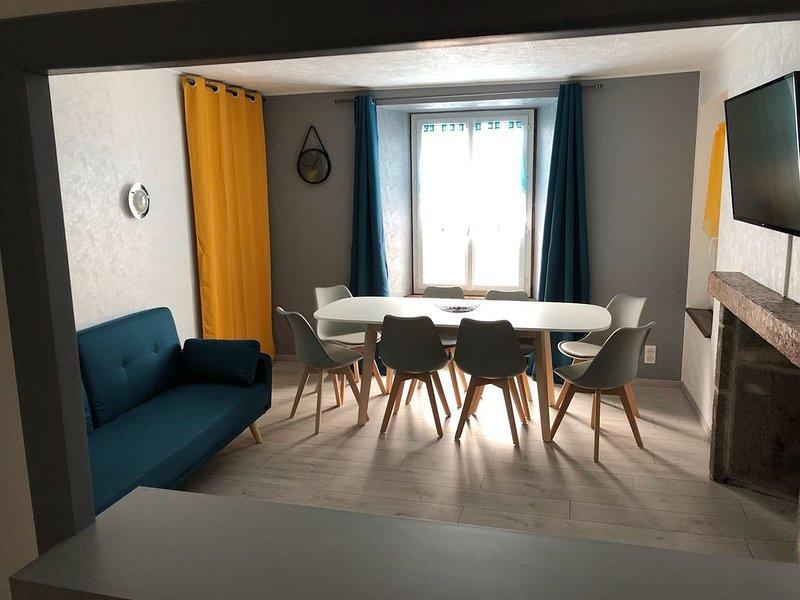 Joli appartement à Murat proche du Lioran Cantal, alquiler vacacional en Murat