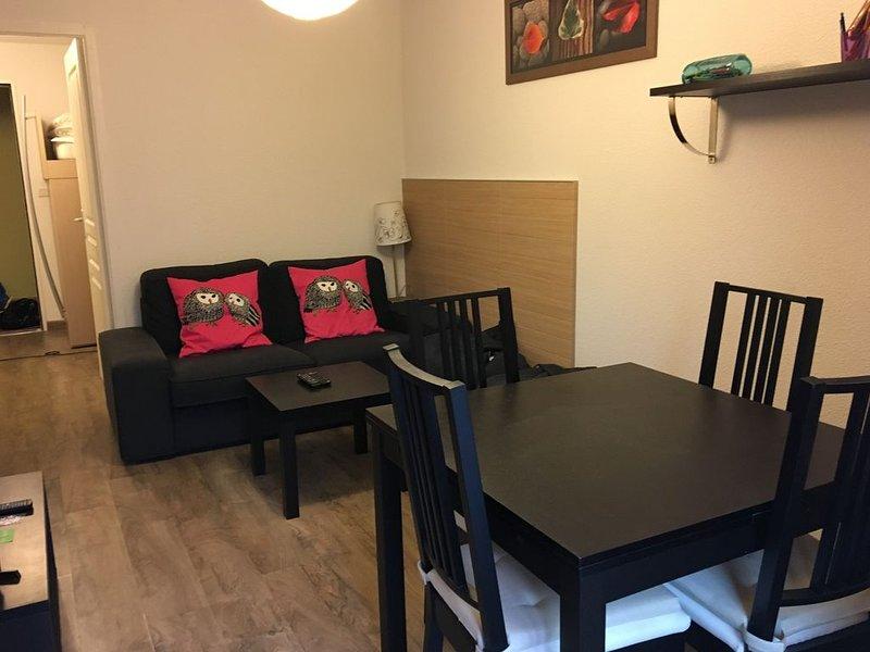 APPARTEMENT 34 m2 - 4 personnes à 200 m du Télésiège de Labrau, holiday rental in Allos
