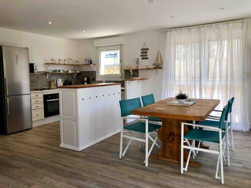 Bel appartement en rez-de-jardin à 100m des plages - idéal pour famille, location de vacances à Saint-Nazaire