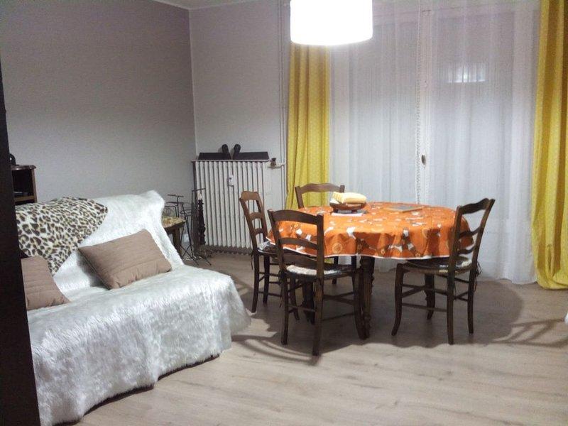 Chez marraine, trois pièces lumineux et douillet en centre ville, vue Causses, holiday rental in Millau