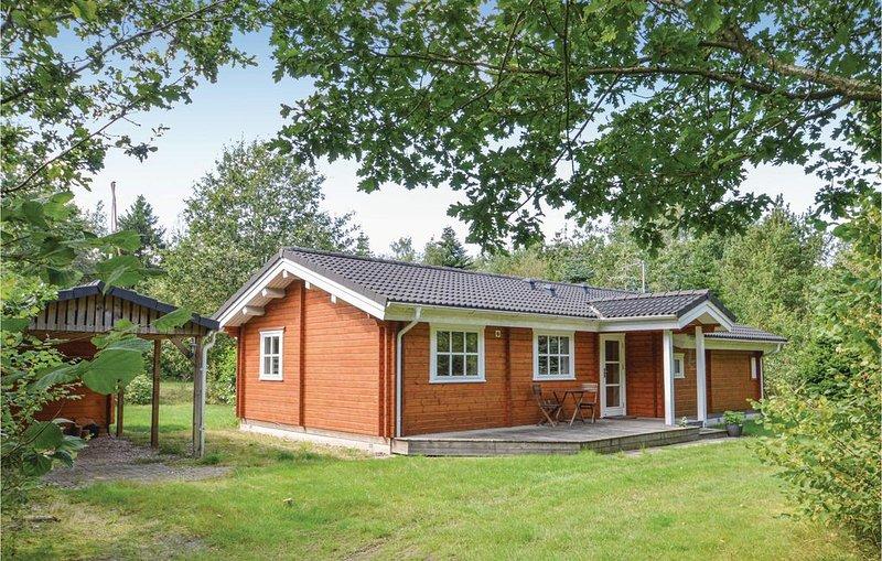 3 Zimmer Unterkunft in Højslev, casa vacanza a Hvalpsund