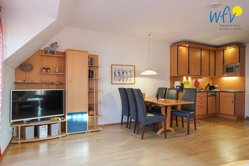 Hier gibt`s Sonne satt! Moderne Ferienwohnung mit zwei Terrassen!, location de vacances à Borkum