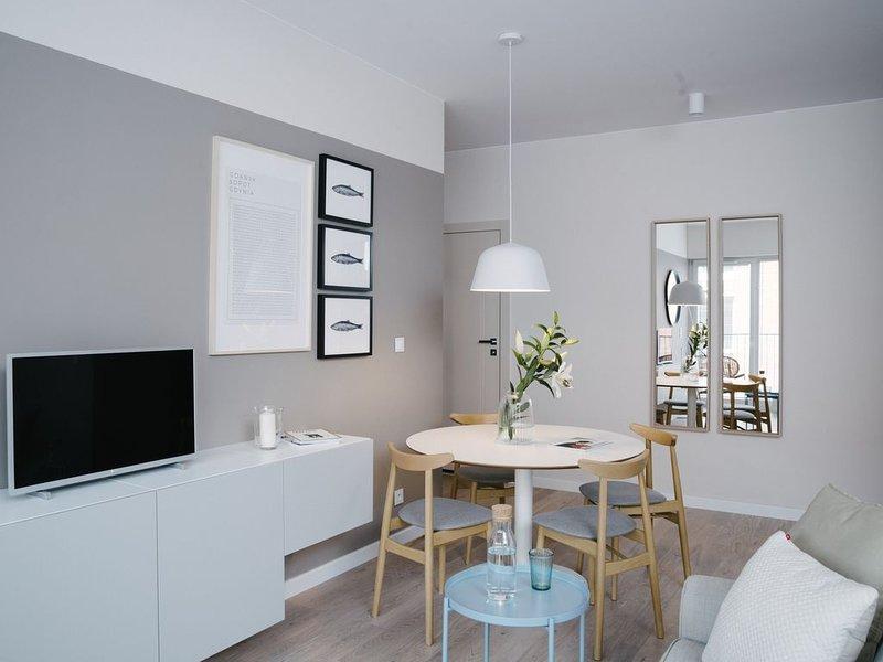 TJB Design Apartment RAJSKA 8, holiday rental in Northern Poland