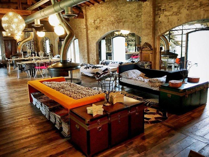 New loft dell'artista, aluguéis de temporada em Asola
