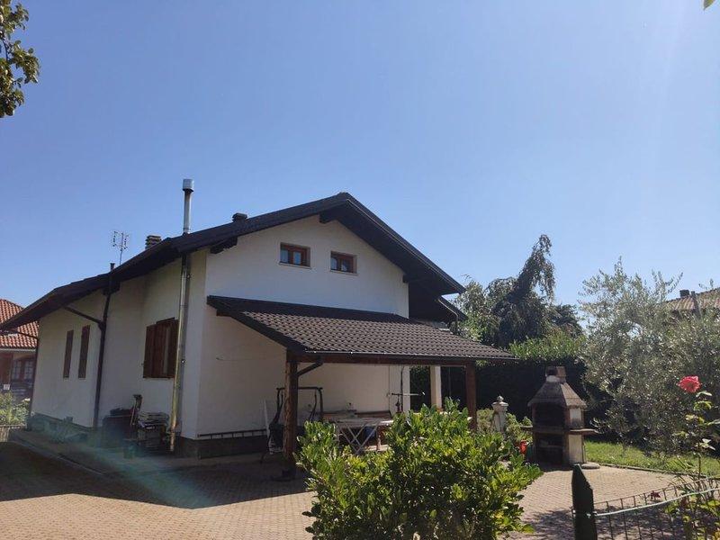 Alloggio in deliziosa villetta in Giaveno, vacation rental in Prarostino