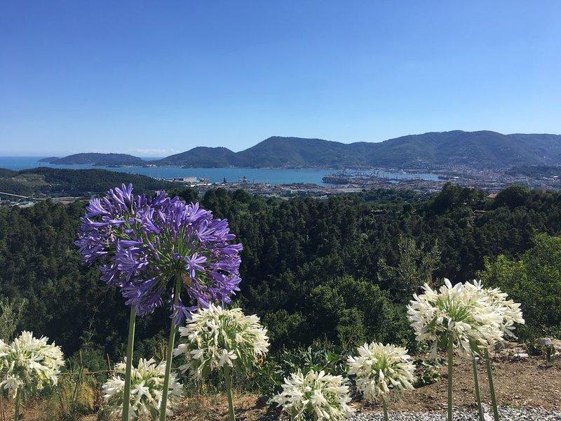 Appartamento di lusso con vista mare vicino alle Cinque Terre' Slow Tourism ', location de vacances à Vezzano Ligure