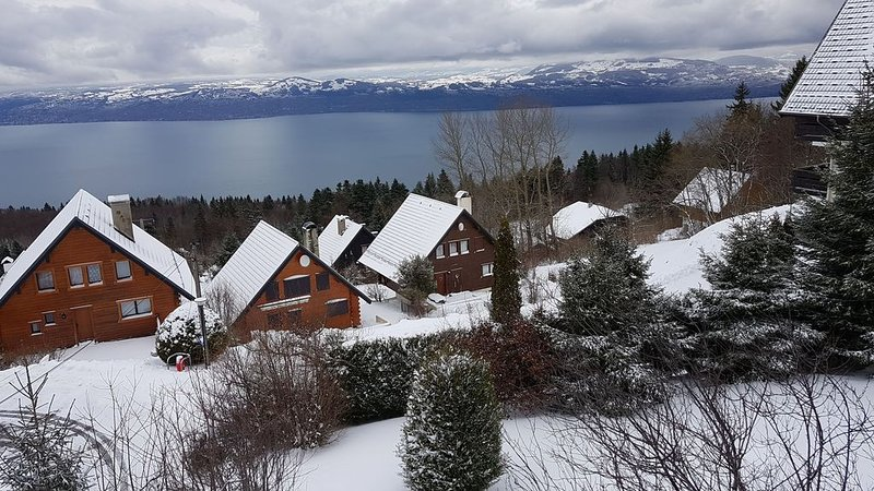 Chalet with fabulous view of Lake Geneva close to Piste and Telecabin, alquiler de vacaciones en Chexbres