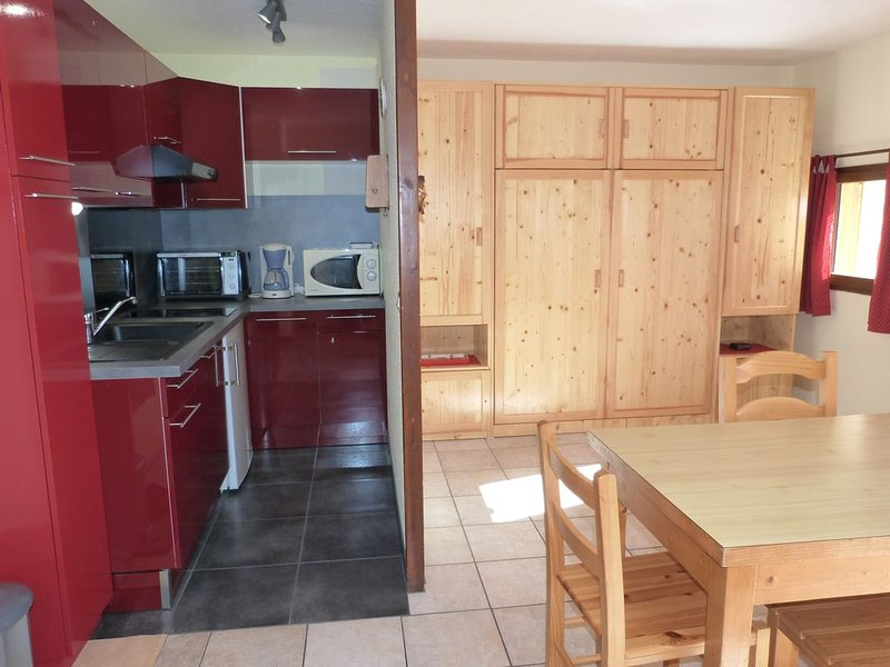 Les 2 Alpes 3600 -commune Venosc - 28m2 apartment prox. tracks., holiday rental in Vénosc