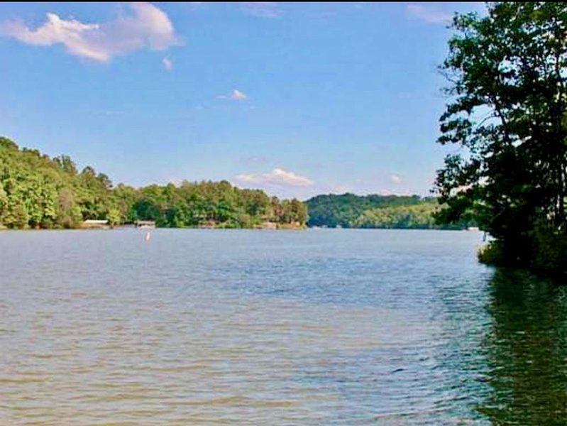 Lake front house with dock!, holiday rental in Dawsonville