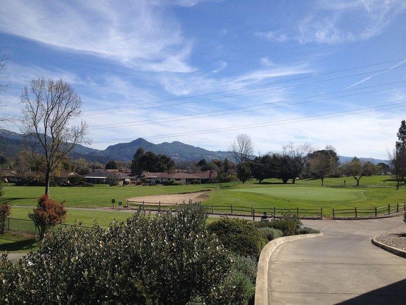 Golfing just steps away!