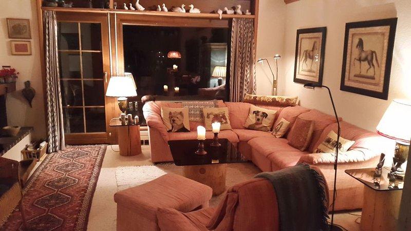 Idyllisch gelegene Ferienwohnung - Casa Ogna, alquiler de vacaciones en Klosters