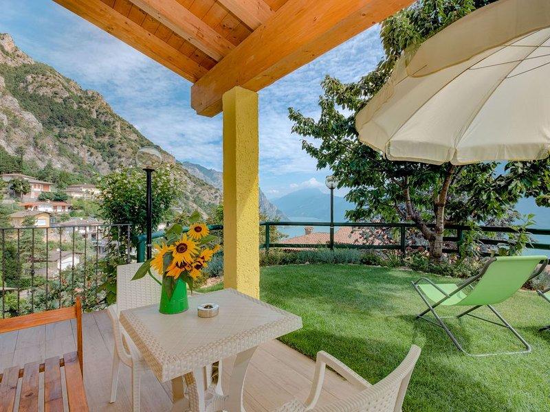 Berg- und Seepanorama - Ferienwohnung Giada, casa vacanza a Tremosine sul Garda