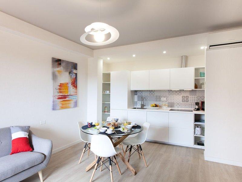 Ferienhaus mit WLAN, Klimaanlage, Balkon und Garten, alquiler de vacaciones en Villasimius