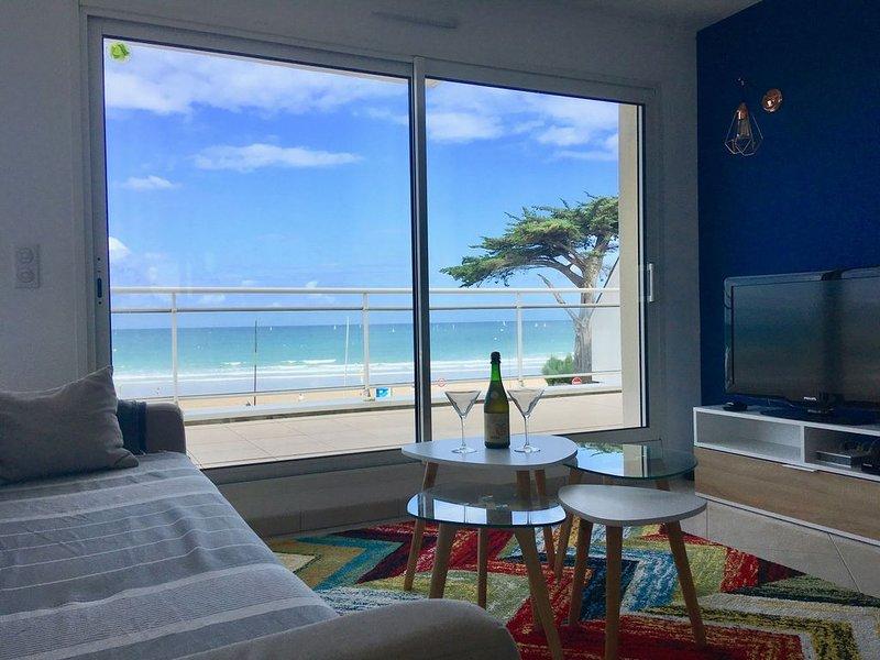 Glaz-Zen 4* : am Strand, Panoramablick auf das Meer, aluguéis de temporada em Erquy