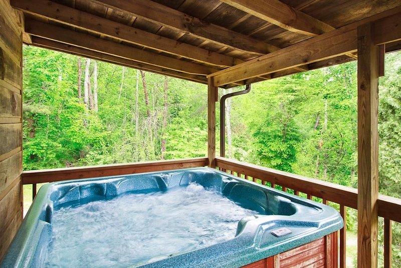 Affordable Mountain Cottage W/ Wood Fireplace + Hot Tub + WiFi!, aluguéis de temporada em Cosby
