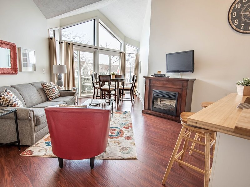 PNI205 - View of Round Lake & 1 Block to Town in downtown Charlevoix!, vacation rental in Charlevoix County