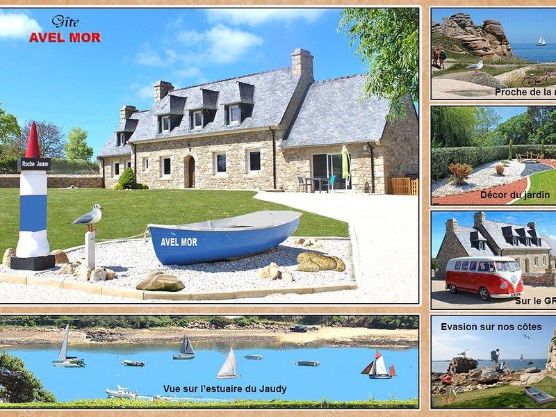 PROMOTION -10% NOV  DEC   Vue sur l'estuaire du Jaudy, holiday rental in Minihy-Treguier
