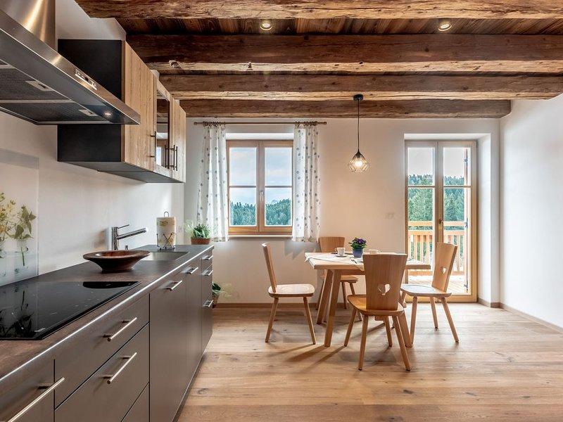 Traumhafte Ferienwohnung in gemütlichem Chalet mit Garten, Terrasse und WLAN - O, vacation rental in Tarres
