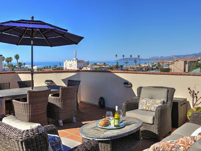 ENDLESS SUMMER, Luxury Condo with Ocean View, Rooftop BBQ Center, Garage, aluguéis de temporada em Pismo Beach