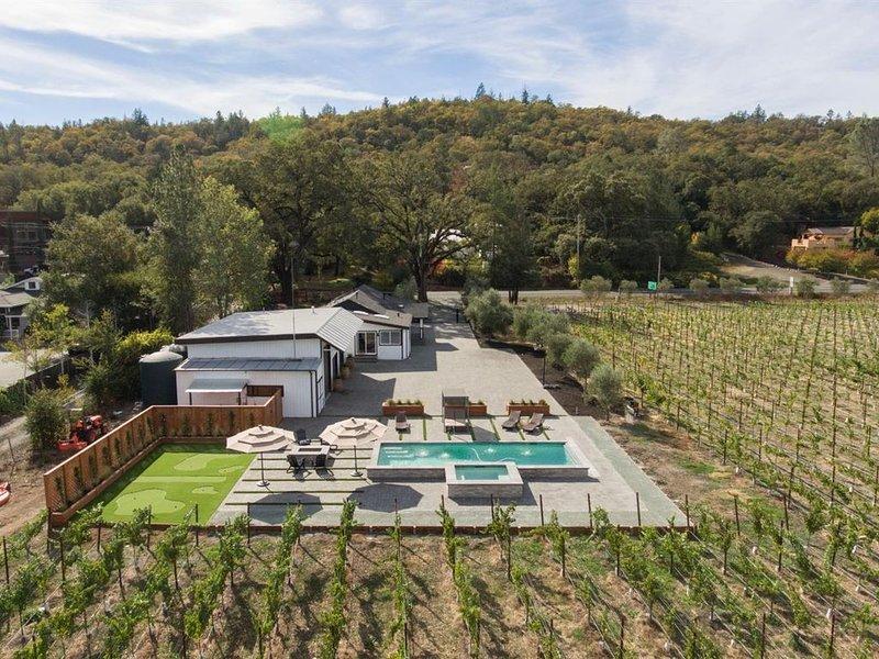 Gentlemen Vineyard near, casa vacanza a Calistoga