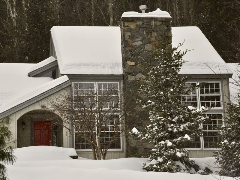 Gorgeous indoor spa, restorative sauna, serene yoga room in private community, holiday rental in South Newfane