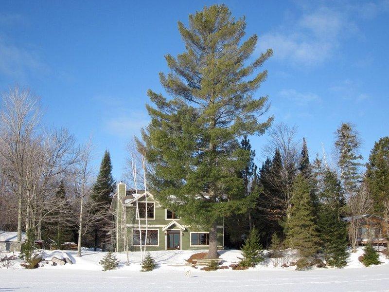 WEST HAGERMAN LAKE HOUSE (Iron River, MI): Fireplace, wifi & more!, location de vacances à Iron River