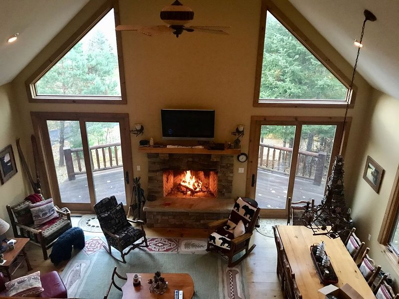 Adirondack Mountain View Home, holiday rental in Saint Regis Falls