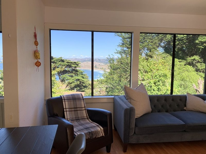 Grand Views of Pacifica Ocean 11 miles to San Francisco, holiday rental in Moss Beach